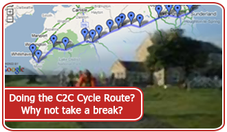 Doing the C2C Cycle Route? Why not take a break?